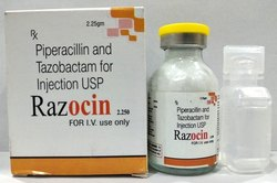 Piperacillin 2 gm Tazobactam 250 mg Injection