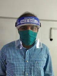 Reusable polycarbonate face shield