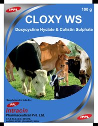 Doxycycline Hyclate/Colistin Sulphate Powder