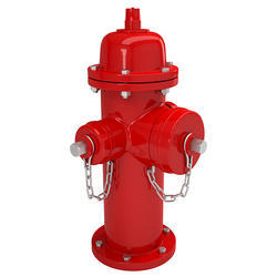 MS Red Fire Hydrant