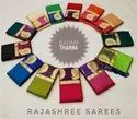 Rajashree Silk Badam Thanna Fancy Sarees, Packaging Type: Packet