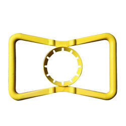 Yellow Bottle Butterfly Handle 48mm