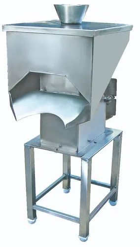 FPM Stainless Steel Onion Cutting Machine, Capacity: 200 Kg/Hr, Model Number/Name: FPM