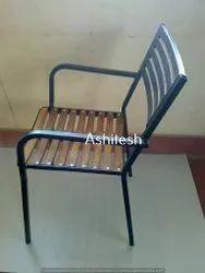 ashitesh Standard Teak Wood Slot Chair, For Restaurant