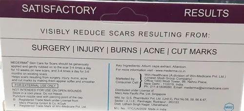 Mederma ( Skin Care For Scars Mederma )