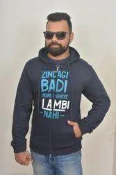 AROYALSKY Zipper Hoodie Sweatshirt