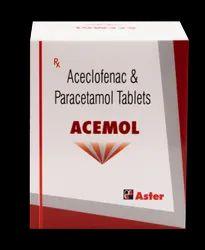Aceclofenac Paracetamol 500 mg ( Acemol Tablet )