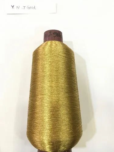 Metallic Zari Kasab Thread Yarn