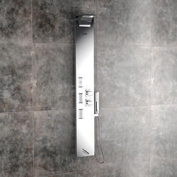 Vito Steel Matte Shower Panel