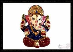 Metal Ganesha Idol