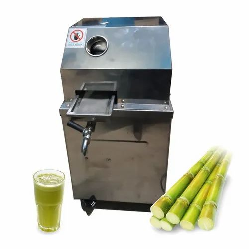 Stainles Steel Body 3 roller Commercial Capacity Sugarcane Juice Machine