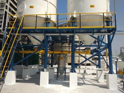 Dynemix India Electrical and Pneumatic Lime Handling System, For Industrial, Capacity: 2000-5000 Kg