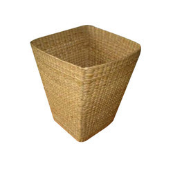 Bamboo Square Dust Bin