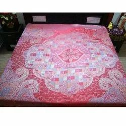 Silk Jamawar Bed Sheet Fabric