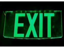 Glow Exit Signage