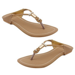Leather Ladies Stylish Slipper