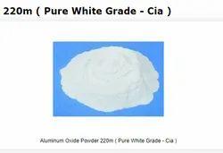 Aluminum Oxide Powder 220m ( Pure White Grade - Cia )