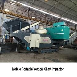 Mobile Portable Vertical Shaft Impactor, Capacity: 100 to 200 ton per hour
