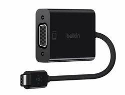 Belkin F2CU037btBLK USB-C to VGA Adapter (Black)