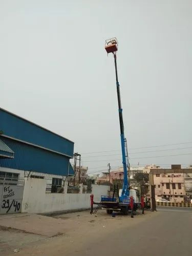 Telescopic Sky Lift 23 Mtr On Tata407