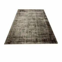 Handmade Viscose Cotton Carpet, Size: 170 X 240 Cm