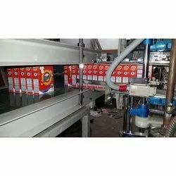 Washing Powder Mono Carton Filling & Gluing Machine