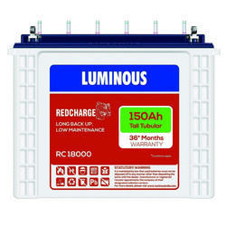 Luminous Red Charge 18000 150Ah ST Battery