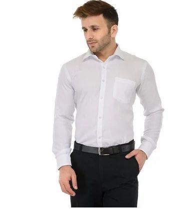 5bc3ef4ac1c8 RG Designers Jute White Solid Slim Fit Formal Shirt at Rs 664.00 ...