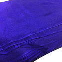 Blue Rubia Voile Plain Fabric