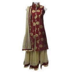 Girl Kid Stylish Indo Western Dress