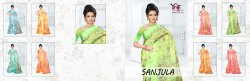 Sanjula 5 Tapadiya Patta Printed Saree