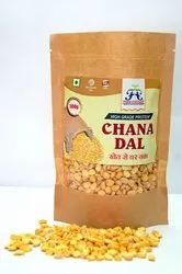 12 Months Farm Essence Chana Dal 1 Kg And 500g Krafted Pouch Pack