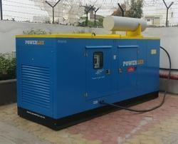 75 KVA Eicher Powerlux Silent Diesel Generator
