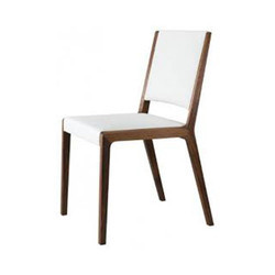 White &  Brown Wooden Chair