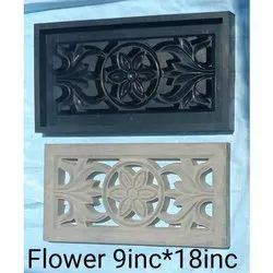 9 into 18 inch Flower Jali Mould