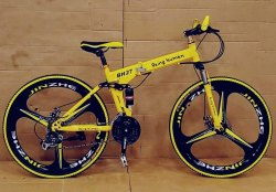 Being Human Bh27 Yellow Foldable Cycle