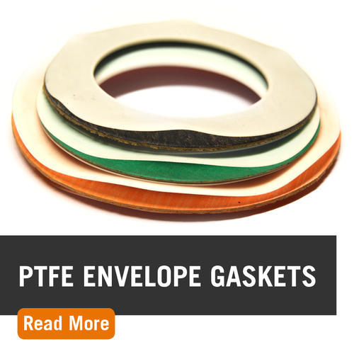 PTFE Envelope Gaskets, Thickness: 14-22 Mm