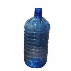 Blue 5 Liter Plastic Thinner Bottle