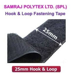 25mm Hook & Loop- Platinum