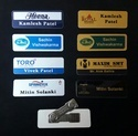 Executive Metallic Name Badges