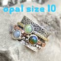 Royal Look Natural Citrine Stone Handmade 925 Sterling Silver Ring
