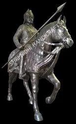 Maharana Pratap Metal Statue