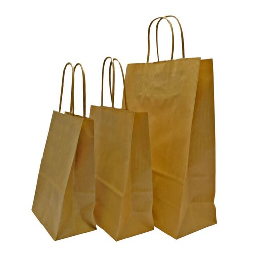 Plain Low Cost Paper Bags, Capacity: 5 kg
