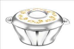Stainless Steel Bloom Design Hot Pot