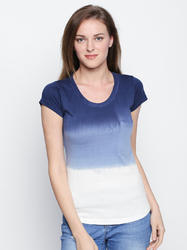 Women's Half Sleeves Round Neck Multi Color 100% Cotton T-shirt