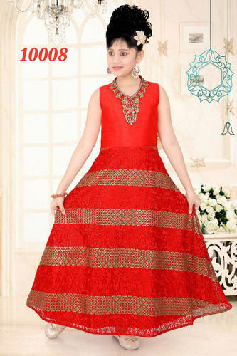 As Shown Girls Kids Gowns For Weddings Party, Rs 2190 /piece | ID ...