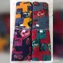 Multicolor Rayon Fabric