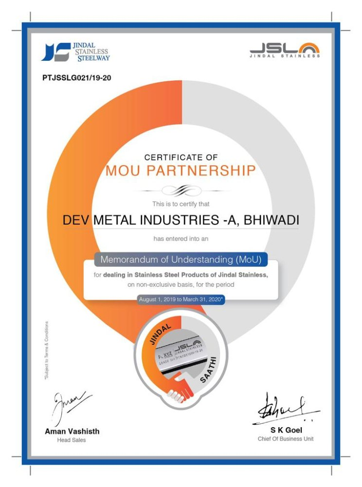 Dev Metal Industries