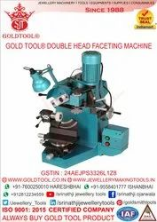 Gold Tool Premium Double Head Faceting Machine Universal (Horizontal & Vertical)