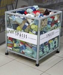 Dump Bin For Small Retail Products